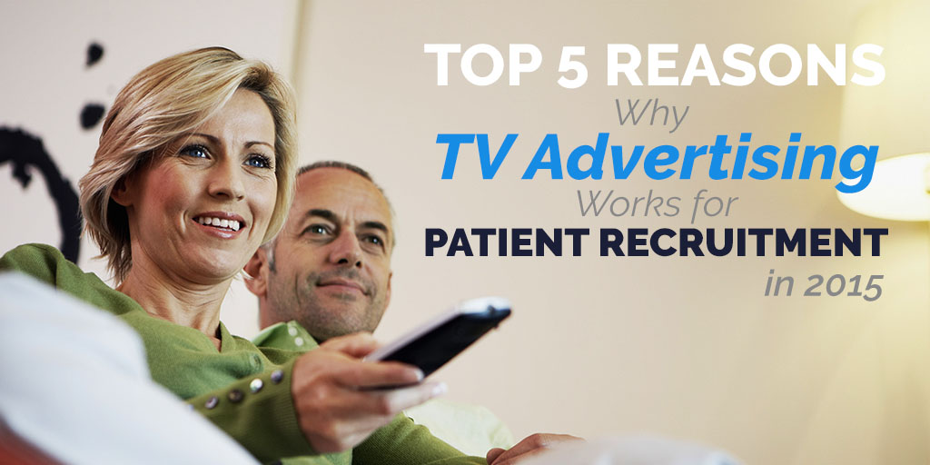 Patient Recruitment TV Advertising